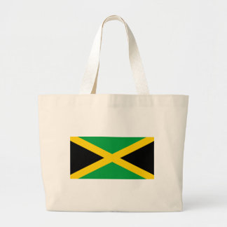 Flag of Jamaica - Jamaican Flag Large Tote Bag