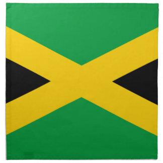 Flag of Jamaica - Jamaican Flag Napkin