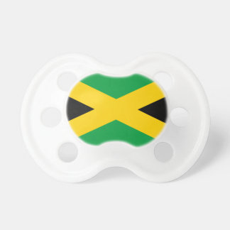 Flag of Jamaica - Jamaican Flag Pacifier