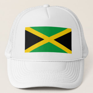 Flag of Jamaica - Jamaican Flag Trucker Hat