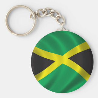 Flag of Jamaica Keychain