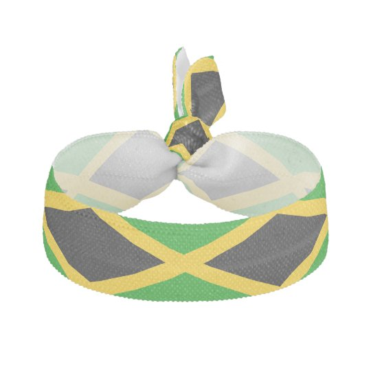 Flag of Jamaica Ribbon Hair Tie