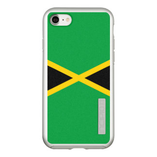 Flag of Jamaica Silver iPhone Case