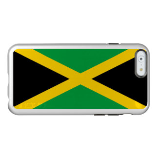 Flag of Jamaica Silver iPhone Case Incipio Feather® Shine iPhone 6 Case