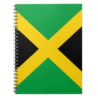 Flag of Jamaica Spiral Notebooks