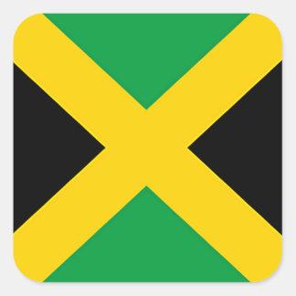 Flag of Jamaica Square Sticker