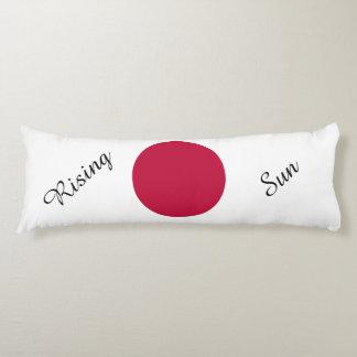 Flag of Japan or Hinomaru Body Pillow