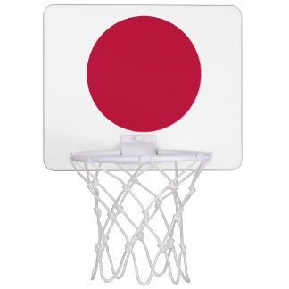 Flag of Japan or Hinomaru Mini Basketball Hoop