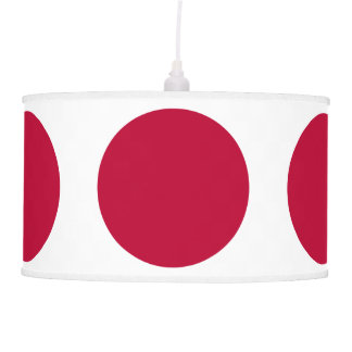 Flag of Japan or Hinomaru Pendant Lamp