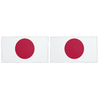 Flag of Japan or Hinomaru Pillowcase