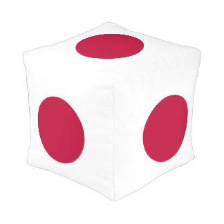 Flag of Japan or Hinomaru Pouf