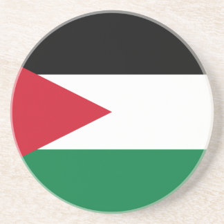Flag_of_Jordan Drink Coasters
