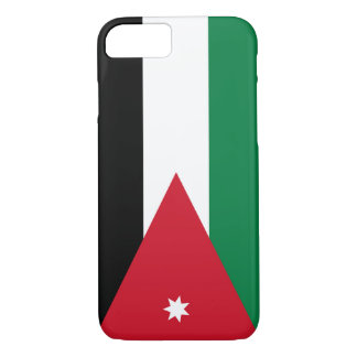 Flag of Jordan iPhone 7 Case