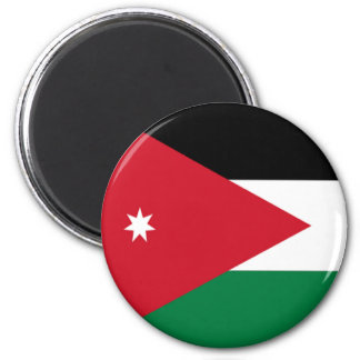 Flag of Jordan Magnet