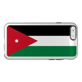 Flag of Jordan Silver iPhone Case Incipio Feather® Shine iPhone 6 Case