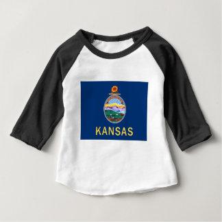 Flag Of Kansas Baby T-Shirt