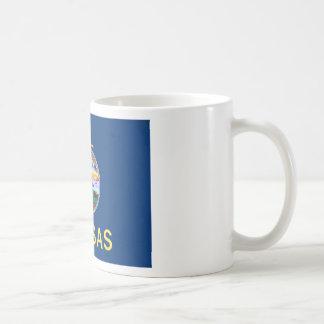 Flag Of Kansas Coffee Mug