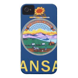 Flag Of Kansas iPhone 4 Covers