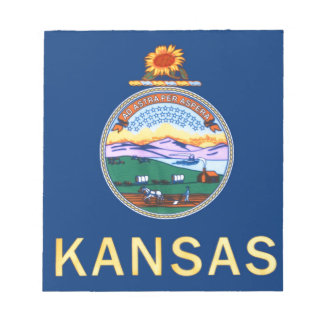 Flag Of Kansas Notepad