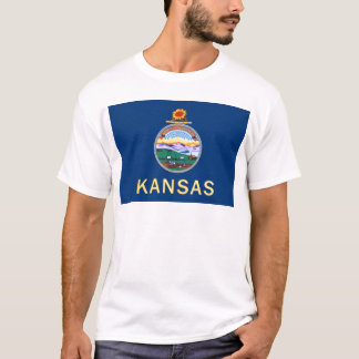 Flag Of Kansas T-Shirt