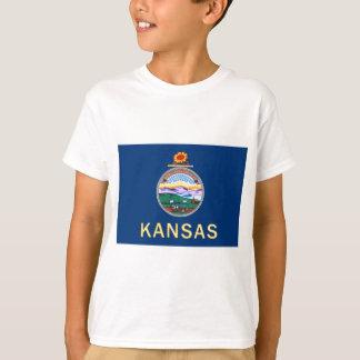 Flag Of Kansas T-Shirt