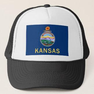 Flag Of Kansas Trucker Hat