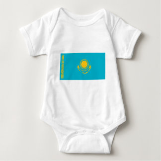 Flag_of_Kazakhstan Baby Bodysuit