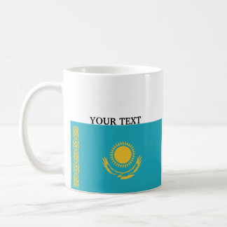 Flag of Kazakhstan Coffee Mug