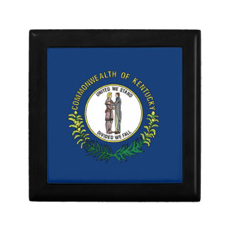 Flag Of Kentucky Gift Box