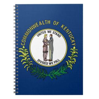 Flag Of Kentucky Notebook