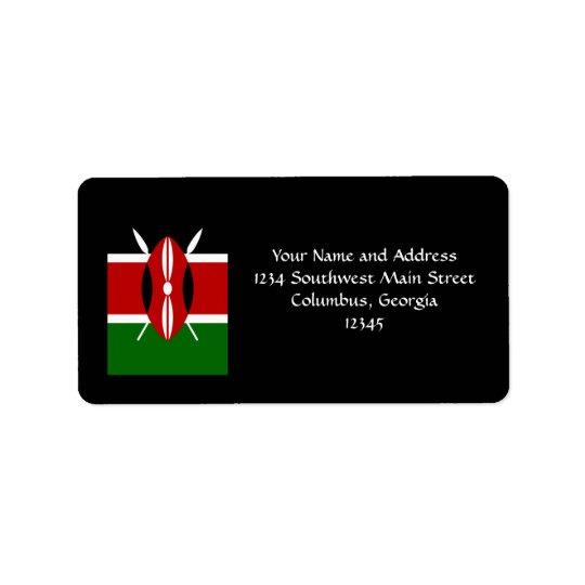 Flag of Kenya Africa