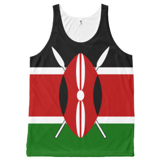 Flag of Kenya All-Over-Print Tank Top