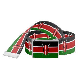 Flag of Kenya Belt
