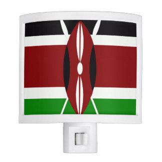Flag of Kenya Night Light