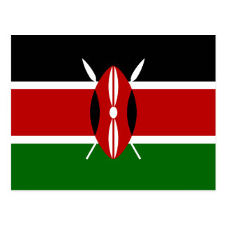 Flag of Kenya Postcard