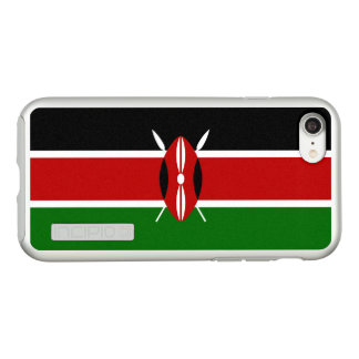 Flag of Kenya Silver iPhone Case