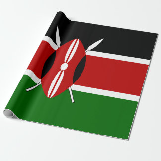 Flag of Kenya Wrapping Paper