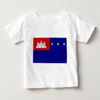 Flag of Khmer Republic (សាធារណរដ្ឋខ្មែរ) Baby T-Shirt