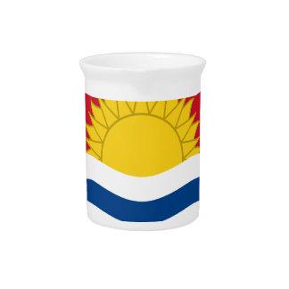 Flag_of_Kiribati Drink Pitcher