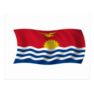 Flag of Kiribati Postcard