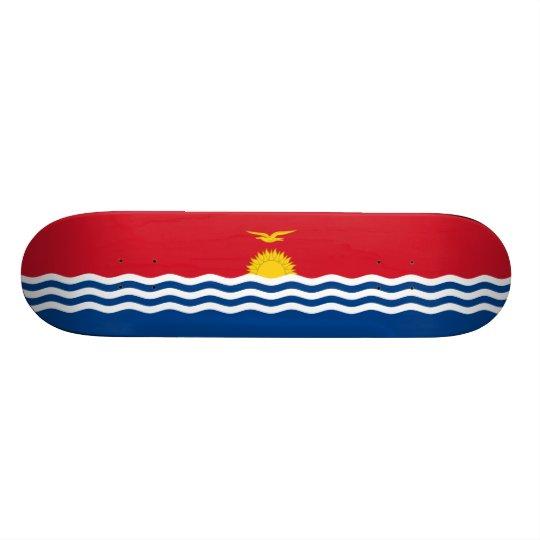Flag of Kiribati Skateboard Deck