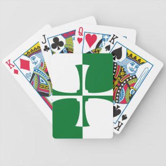 Flag of Kirkcudbrightshire Bicycle Playing Cards