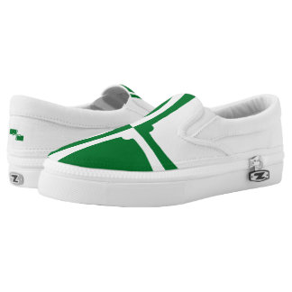 Flag of Kirkcudbrightshire Slip-On Sneakers