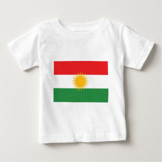 Flag of Kurdistan (Alay Kurdistan or Alaya Rengîn) Baby T-Shirt