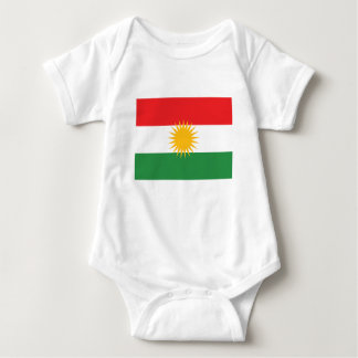 Flag of Kurdistan; Kurd; Kurdish Baby Bodysuit