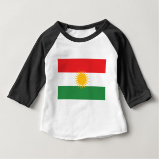 Flag of Kurdistan; Kurd; Kurdish Baby T-Shirt