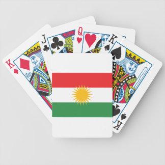 Flag of Kurdistan; Kurd; Kurdish Bicycle Playing Cards