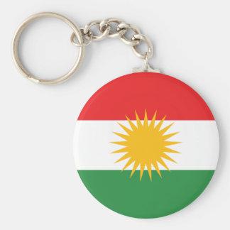 Flag of Kurdistan; Kurd; Kurdish Keychain