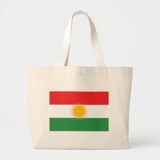 Flag of Kurdistan; Kurd; Kurdish Large Tote Bag