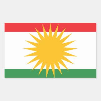 Flag of Kurdistan; Kurd; Kurdish Sticker